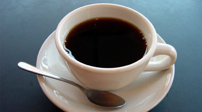 Four cups of coffee daily