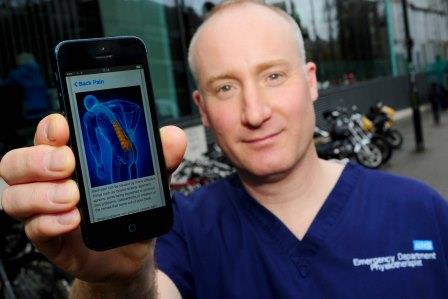 New app to help patients with back pain