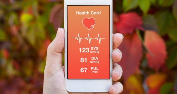 Smartphone app to help prevent heart attack