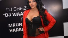New Delhi: Actress Rakhi Sawant during the promotion of her upcoming song 'DJ Wali Chori' in New Delhi on July 19, 2016. (Photo: IANS)