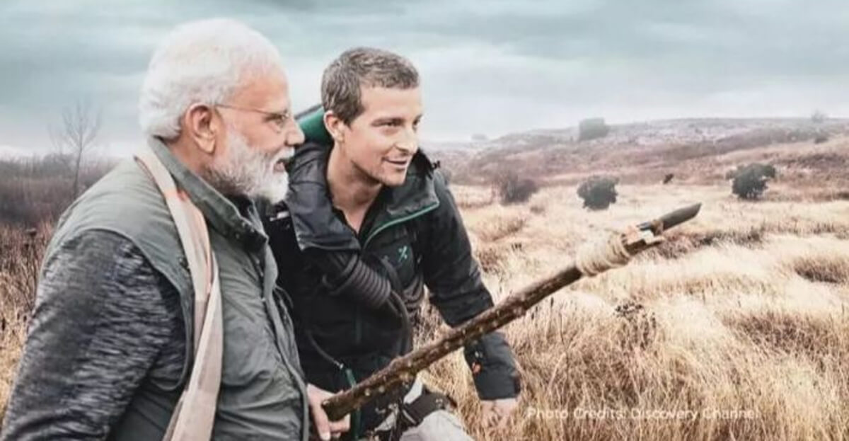 Modi to feature in an episode of Man vs Wild on Discovery