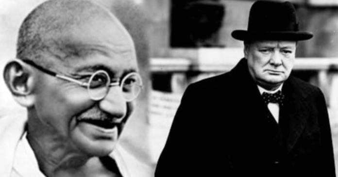 Mahatma Gandhi & Winston Churchill Statues in UK could be Toppled