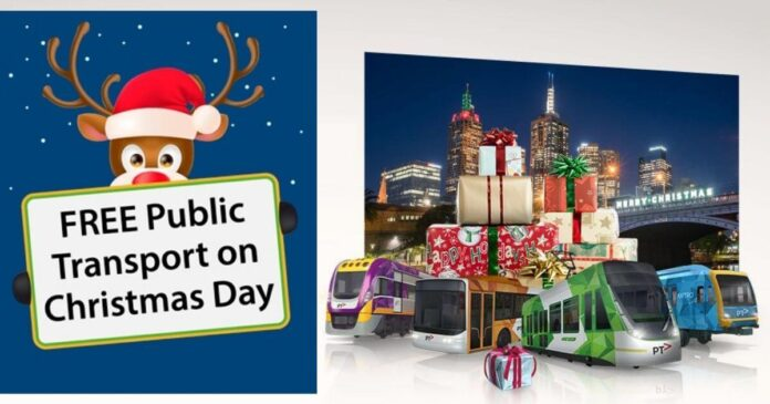 Free Travel for Victorians This Christmas