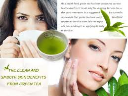 Smooth Skin Benefits From Green Tea