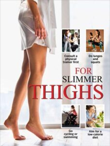 Rid of fat thighs