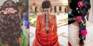 Beautiful Indian wedding hairstyle for every bride