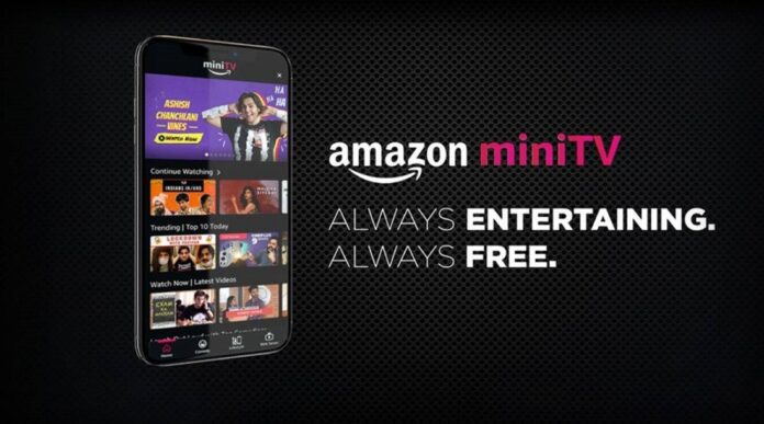 Amazon launches MiniTV, its in-app free video-streaming service exclusively for India