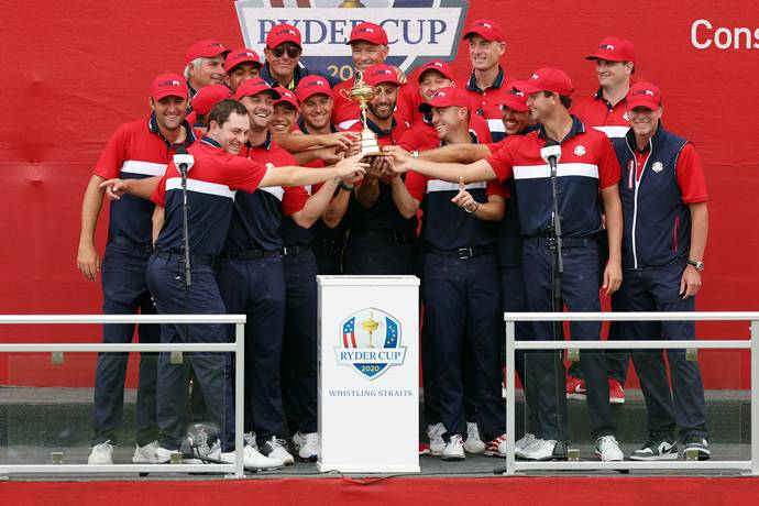 US regain Ryder Cup after victory over Europe