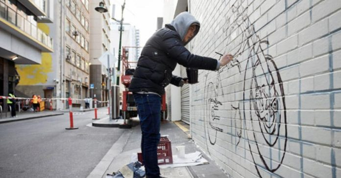 Melbourne Artists Add Colour to City Recovery